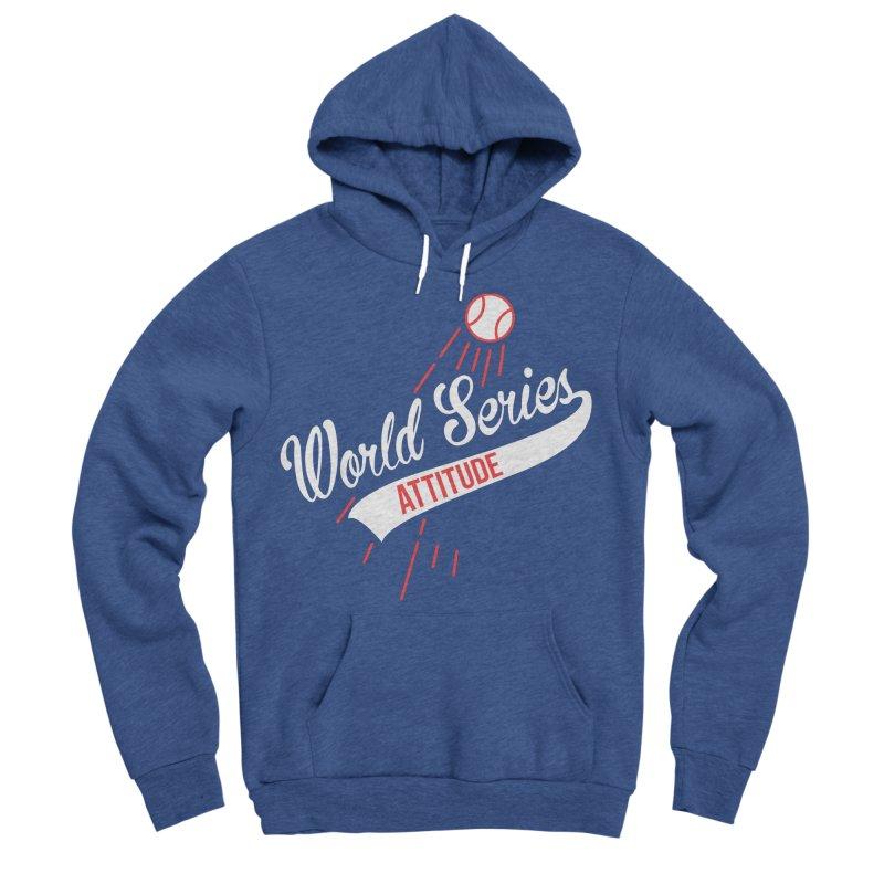 World Series Attitude Women's Sponge Fleece Pullover Hoody by Official DodgerBlue.com Shop