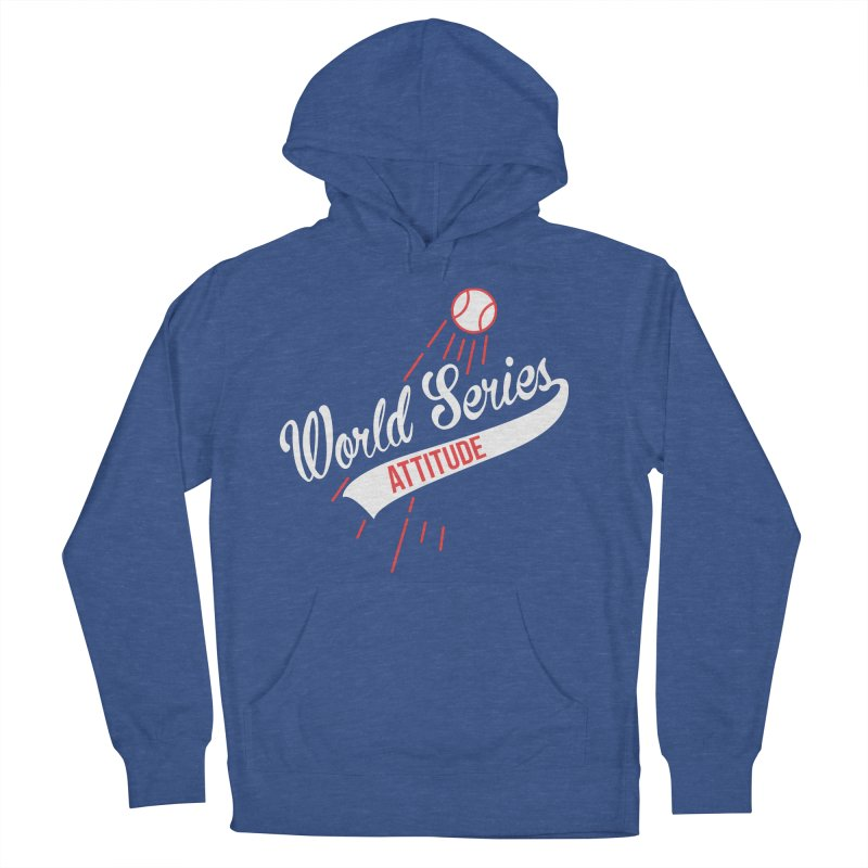 World Series Attitude Men's French Terry Pullover Hoody by Official DodgerBlue.com Shop