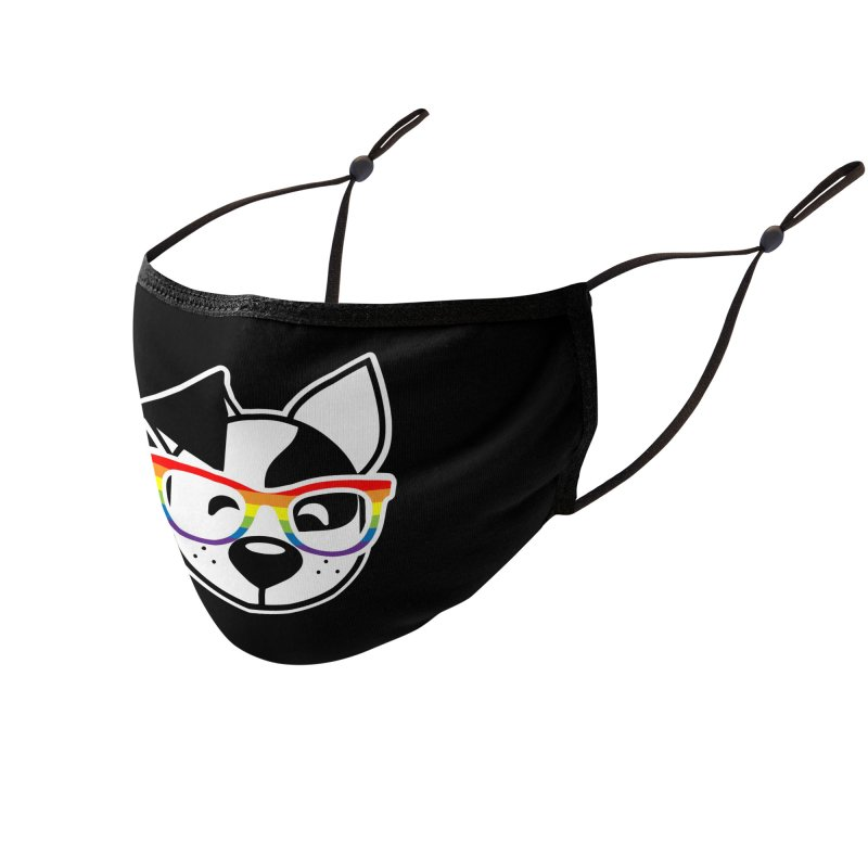 Deb Pride Accessories Face Mask by dogearbooks's Artist Shop