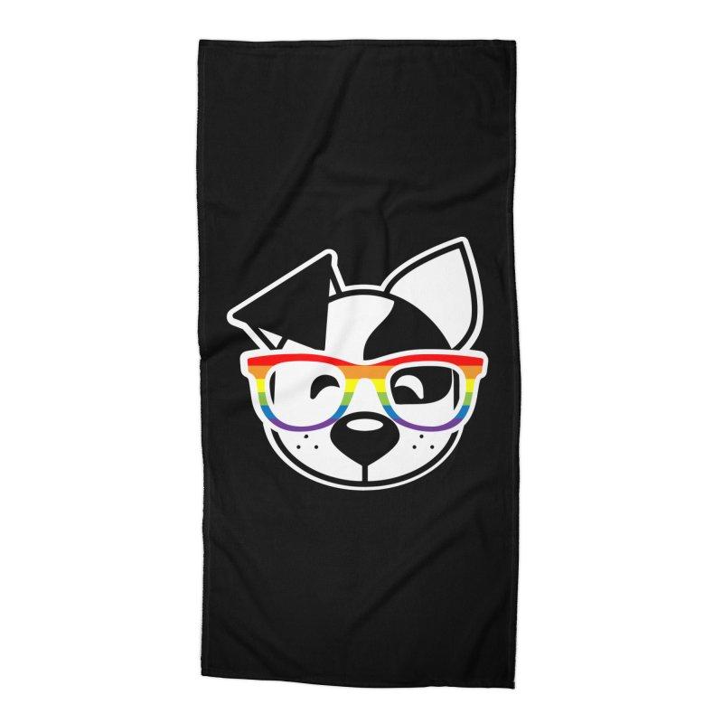 Deb Pride Accessories Beach Towel by dogearbooks's Artist Shop