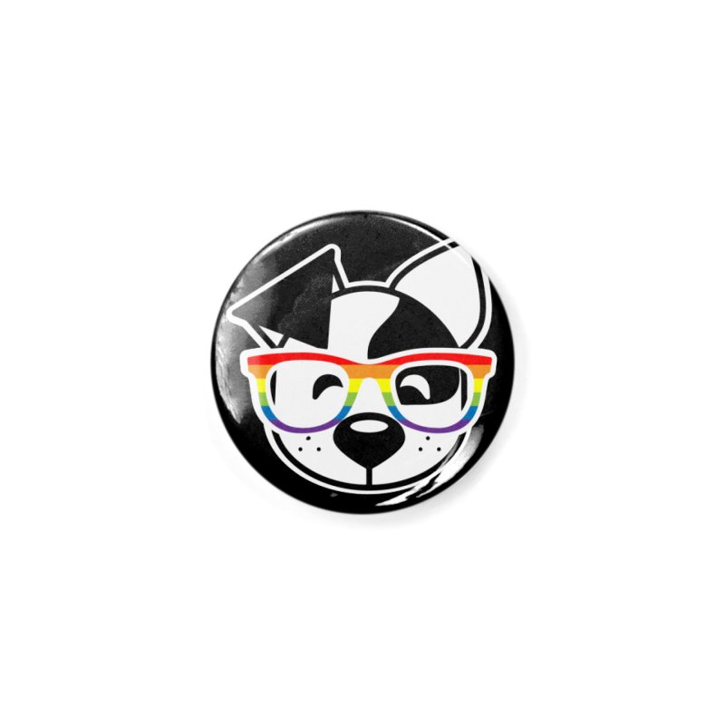 Deb Pride Accessories Button by dogearbooks's Artist Shop