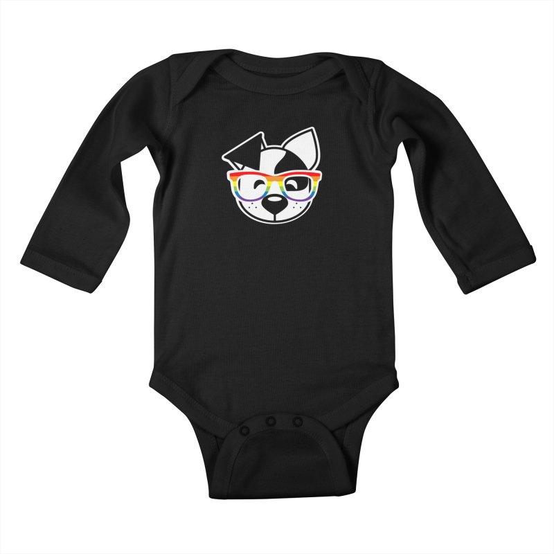 Deb Pride Kids Baby Longsleeve Bodysuit by dogearbooks's Artist Shop