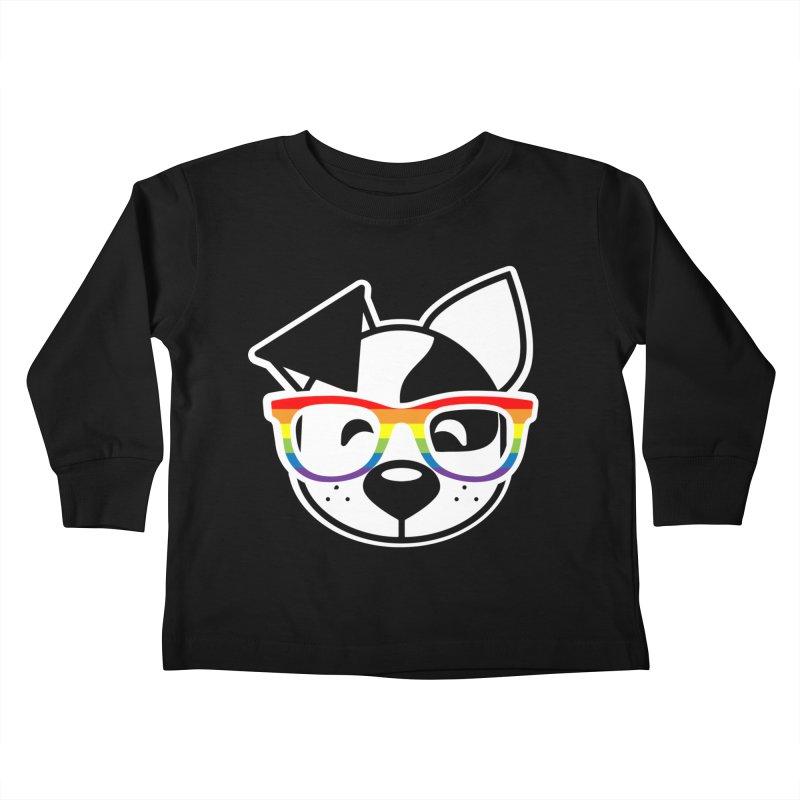 Deb Pride Kids Toddler Longsleeve T-Shirt by dogearbooks's Artist Shop