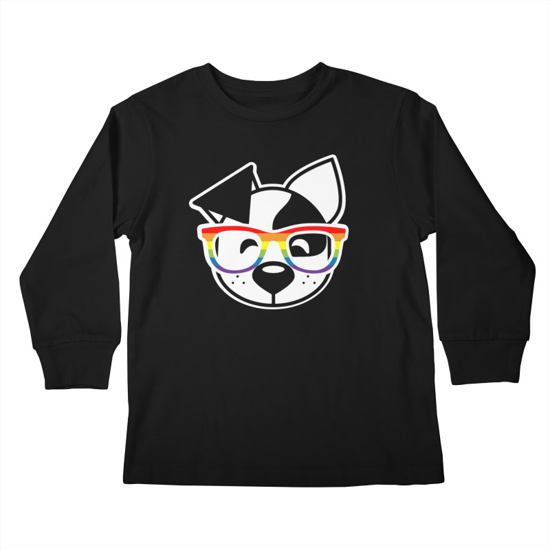 Deb Pride Kids Longsleeve T-Shirt by dogearbooks's Artist Shop