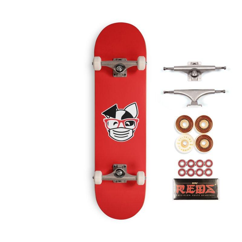 Deb Masky Accessories Skateboard by dogearbooks's Artist Shop