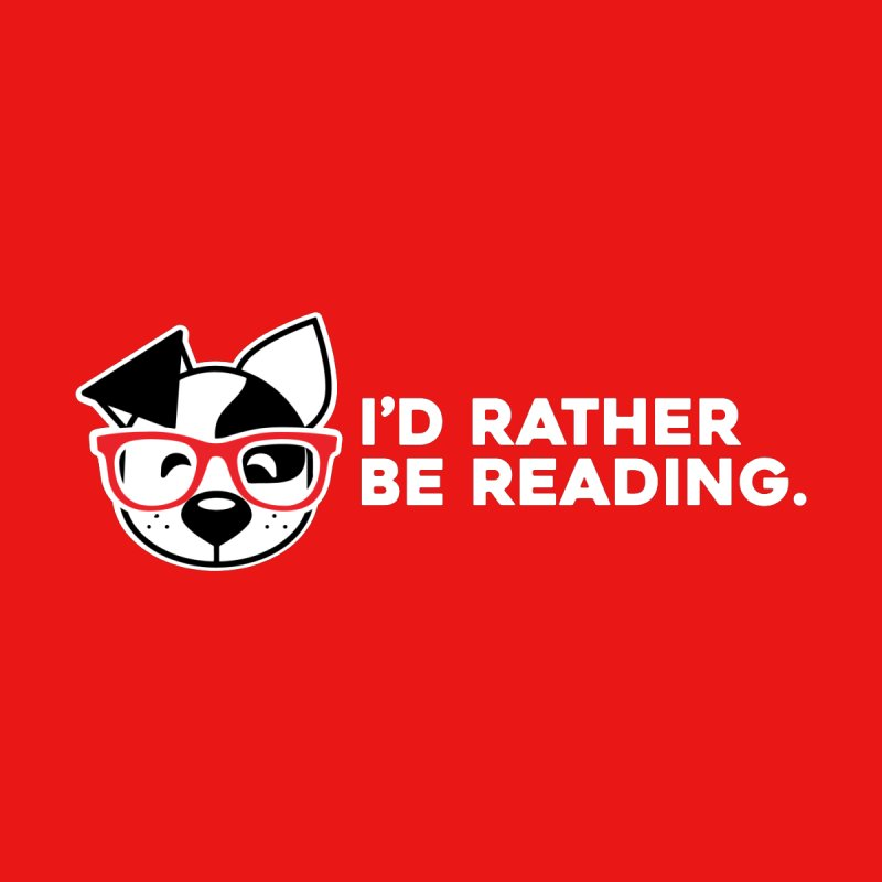 Rather Read Men's T-Shirt by dogearbooks's Artist Shop
