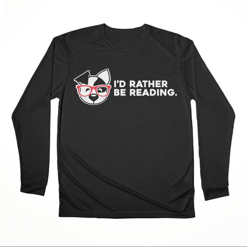 Rather Read Men's Longsleeve T-Shirt by dogearbooks's Artist Shop
