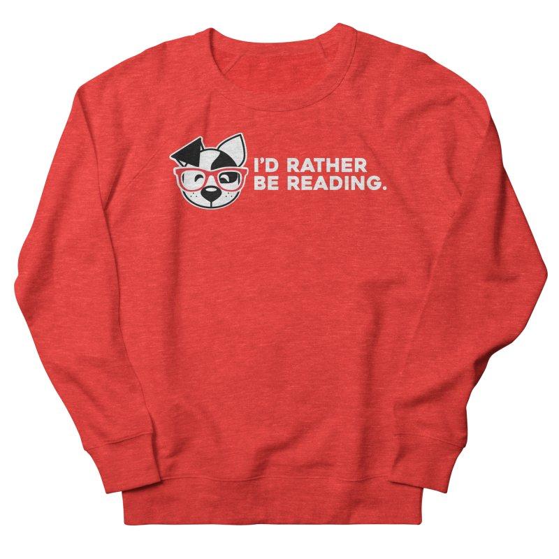 Rather Read Men's Sweatshirt by dogearbooks's Artist Shop