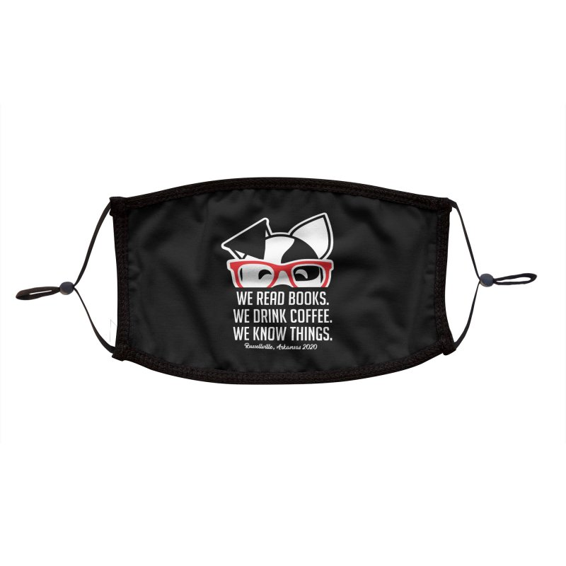 Deb Knows Things Accessories Face Mask by dogearbooks's Artist Shop