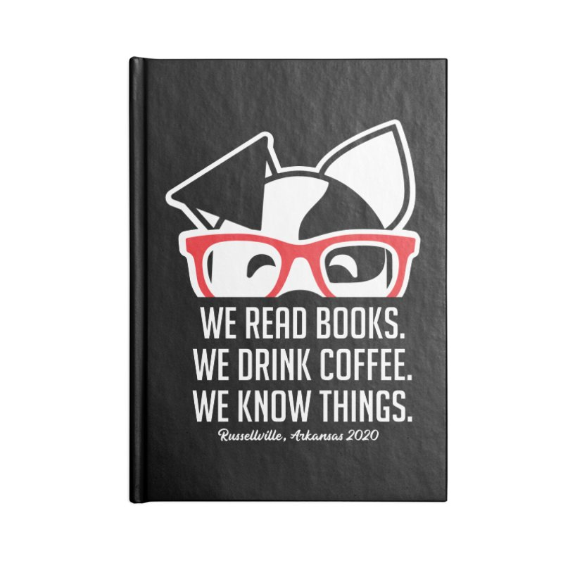 Deb Knows Things Accessories Notebook by dogearbooks's Artist Shop