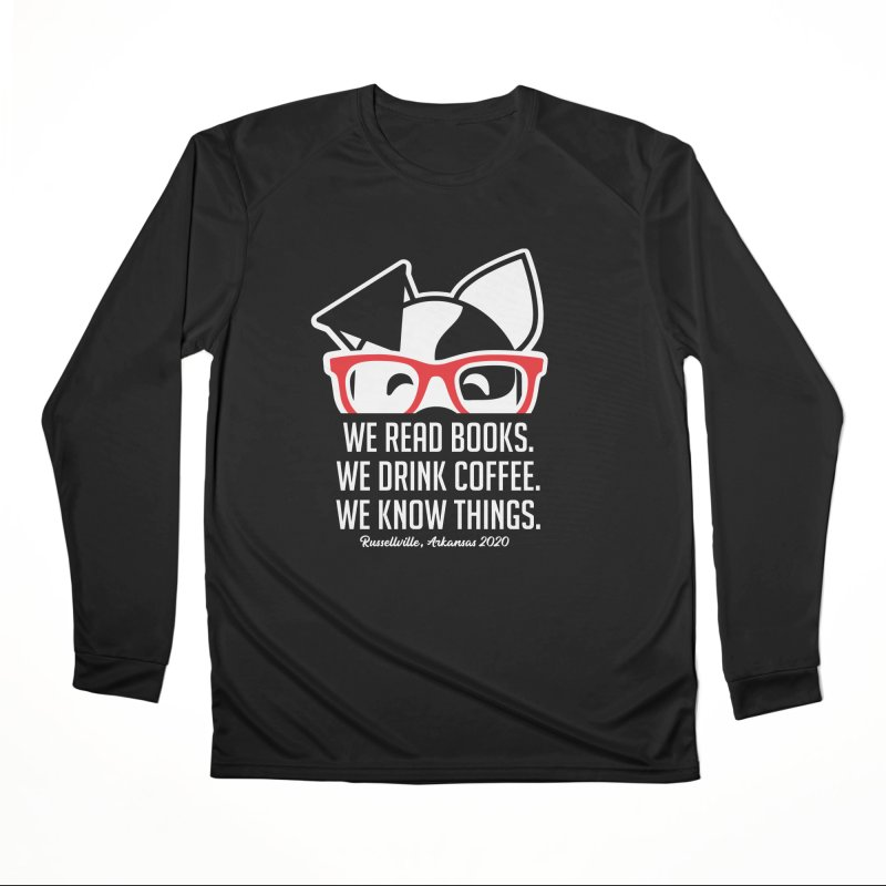 Deb Knows Things Men's Longsleeve T-Shirt by dogearbooks's Artist Shop