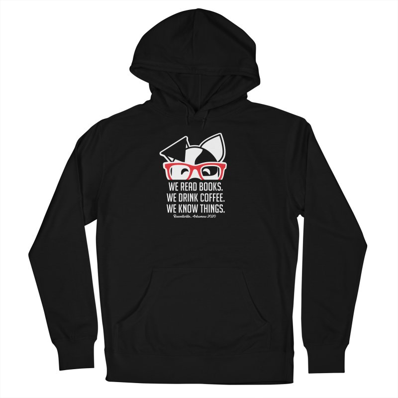 Deb Knows Things Men's Pullover Hoody by dogearbooks's Artist Shop