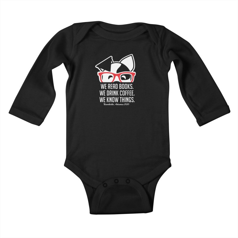 Deb Knows Things Kids Baby Longsleeve Bodysuit by dogearbooks's Artist Shop