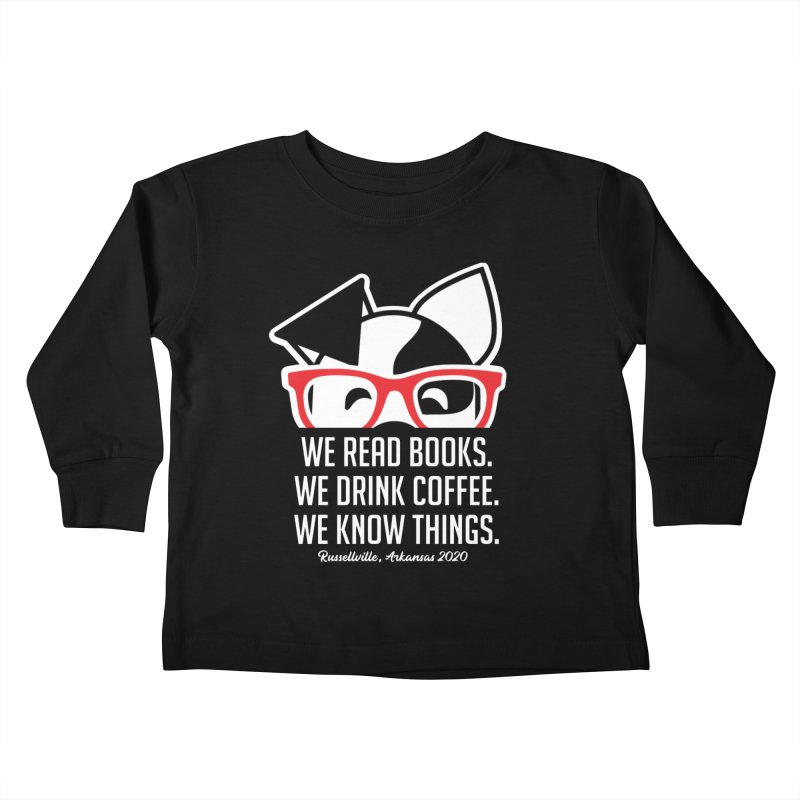 Deb Knows Things Kids Toddler Longsleeve T-Shirt by dogearbooks's Artist Shop