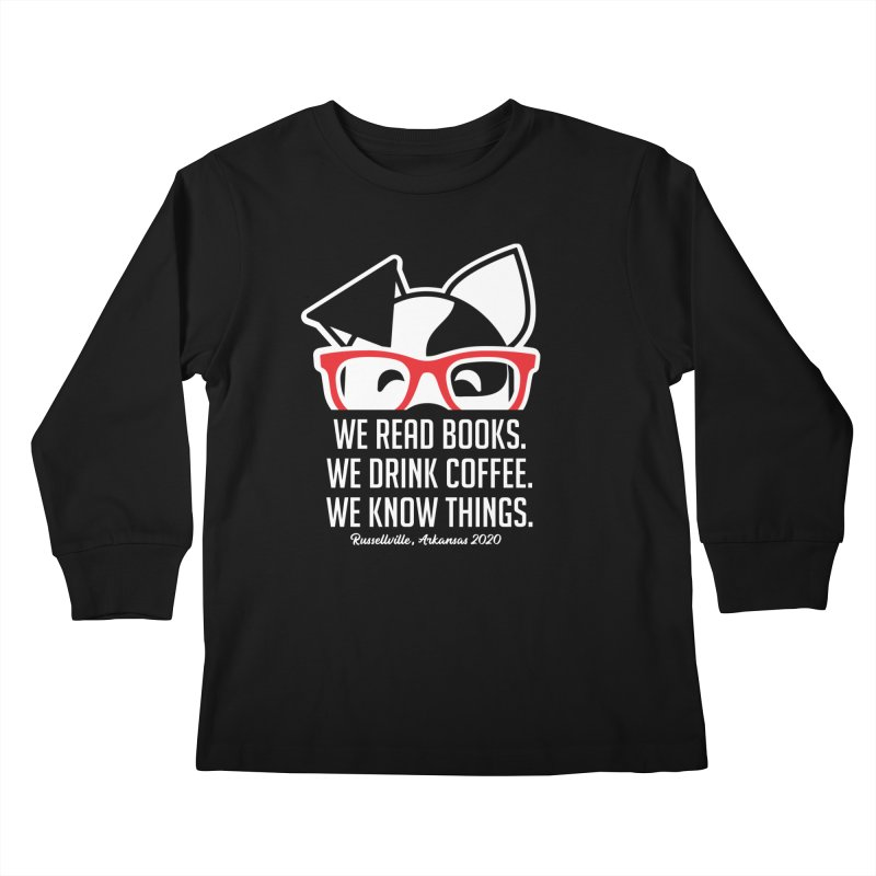 Deb Knows Things Kids Longsleeve T-Shirt by dogearbooks's Artist Shop