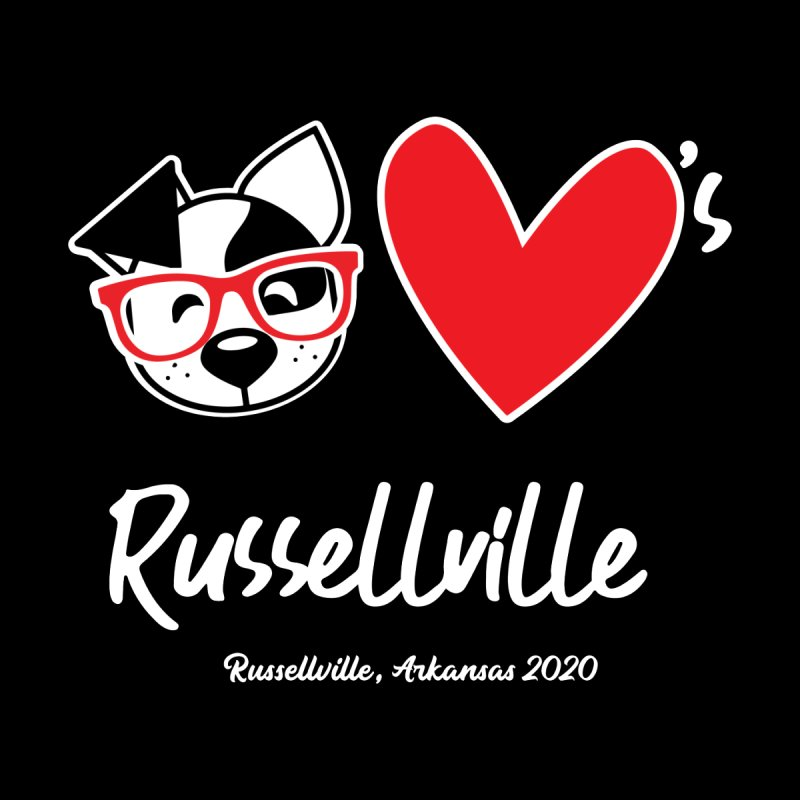 Deb Hearts Russellville Kids Toddler Longsleeve T-Shirt by dogearbooks's Artist Shop