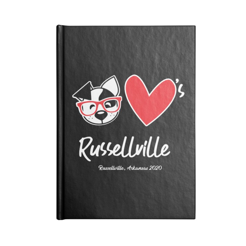 Deb Hearts Russellville Accessories Notebook by dogearbooks's Artist Shop