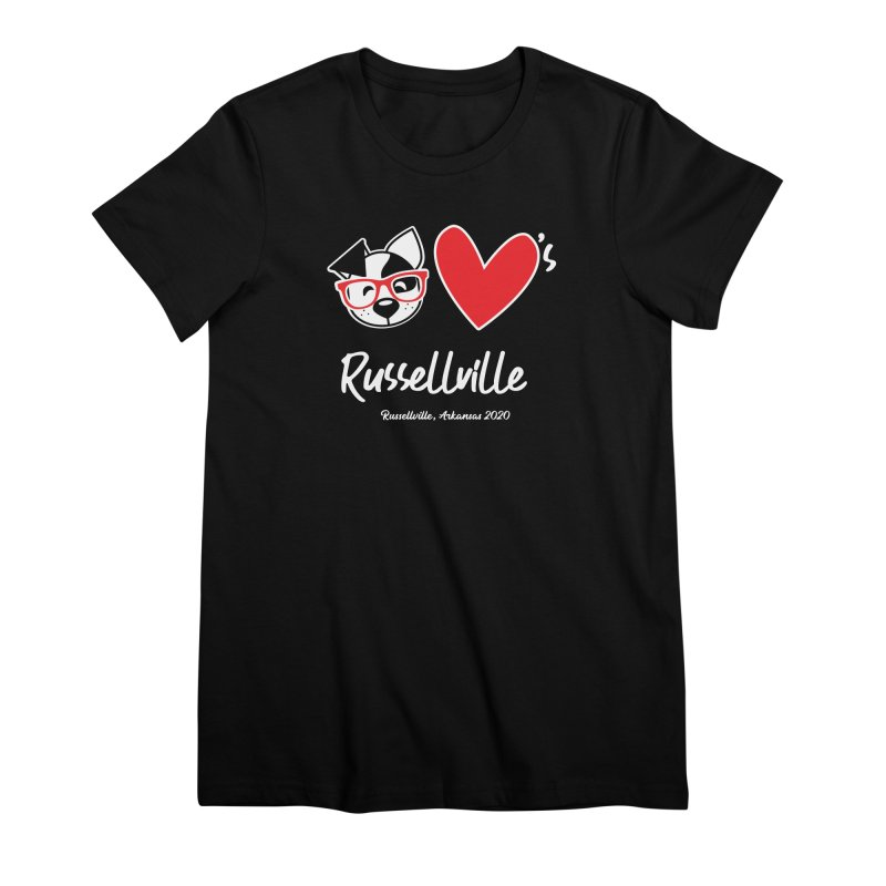 Deb Hearts Russellville Women's T-Shirt by dogearbooks's Artist Shop