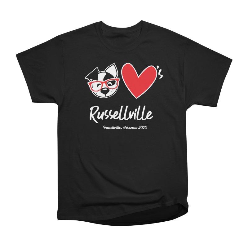 Deb Hearts Russellville Women's T-Shirt by dogearbooks's Artist Shop