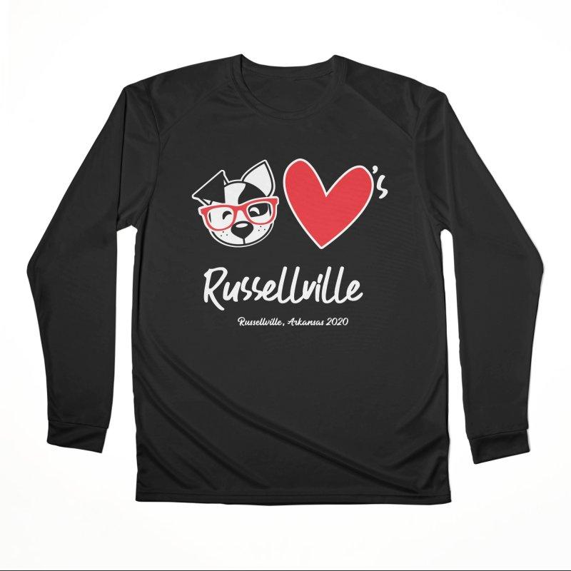 Deb Hearts Russellville Women's Longsleeve T-Shirt by dogearbooks's Artist Shop