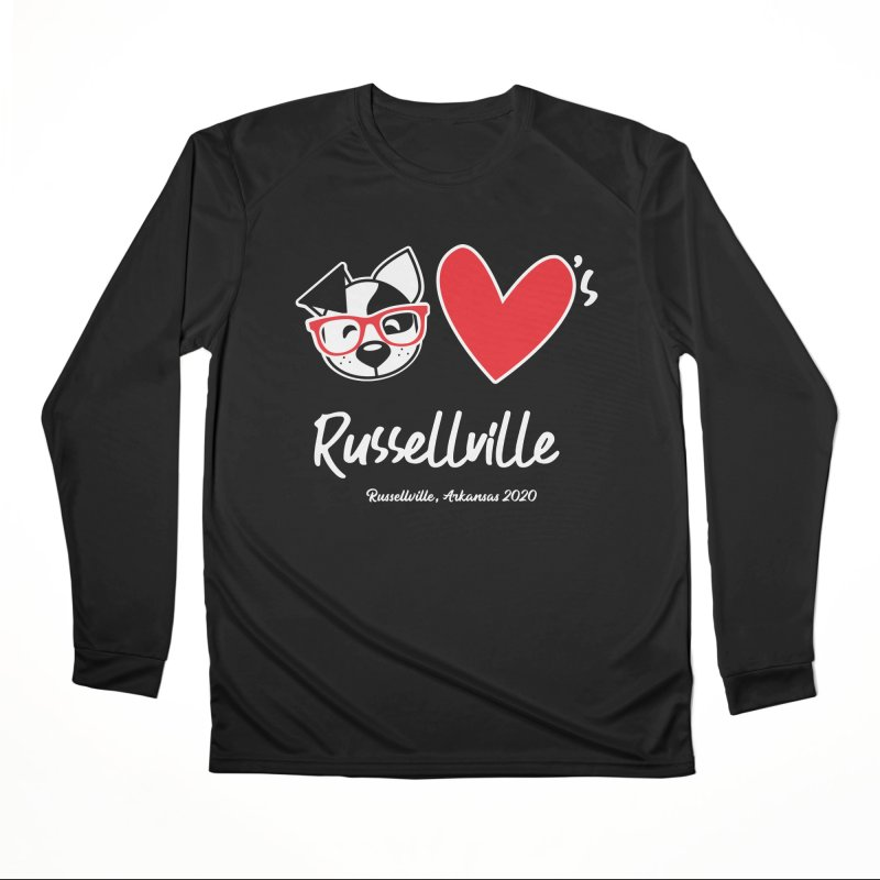 Deb Hearts Russellville Men's Longsleeve T-Shirt by dogearbooks's Artist Shop