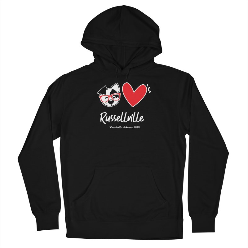 Deb Hearts Russellville Women's Pullover Hoody by dogearbooks's Artist Shop
