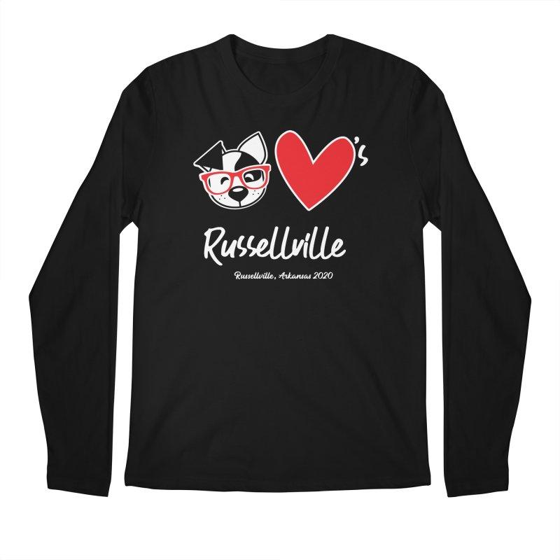 Deb Hearts Russellville Men's Longsleeve T-Shirt by dogearbooks's Artist Shop