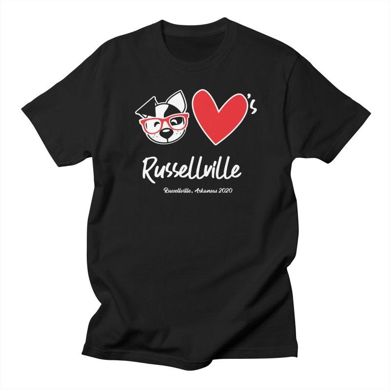 Deb Hearts Russellville Men's T-Shirt by dogearbooks's Artist Shop