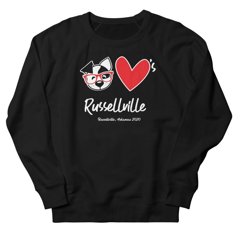 Deb Hearts Russellville Men's Sweatshirt by dogearbooks's Artist Shop