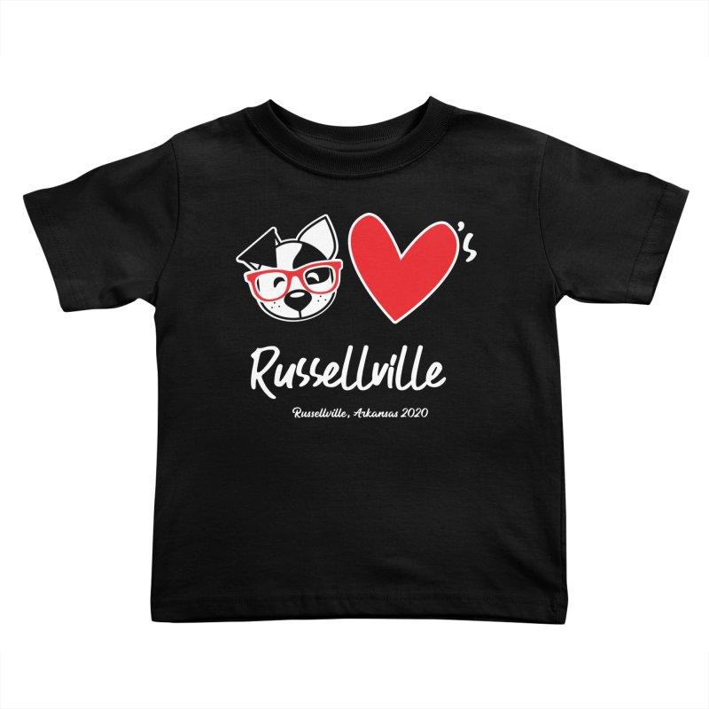 Deb Hearts Russellville Kids Toddler T-Shirt by dogearbooks's Artist Shop