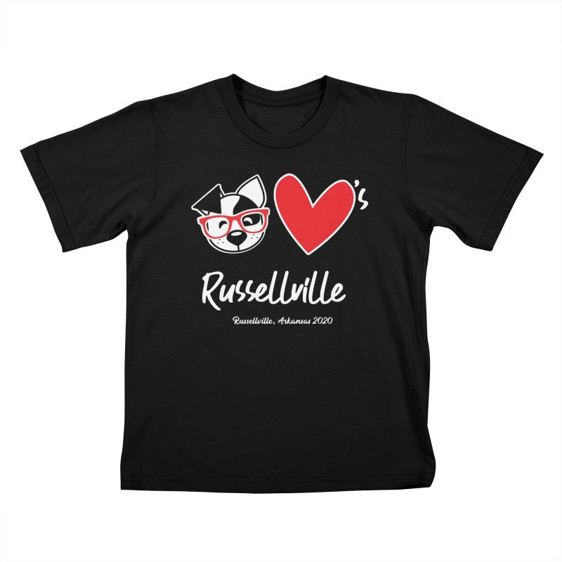 Deb Hearts Russellville Kids T-Shirt by dogearbooks's Artist Shop