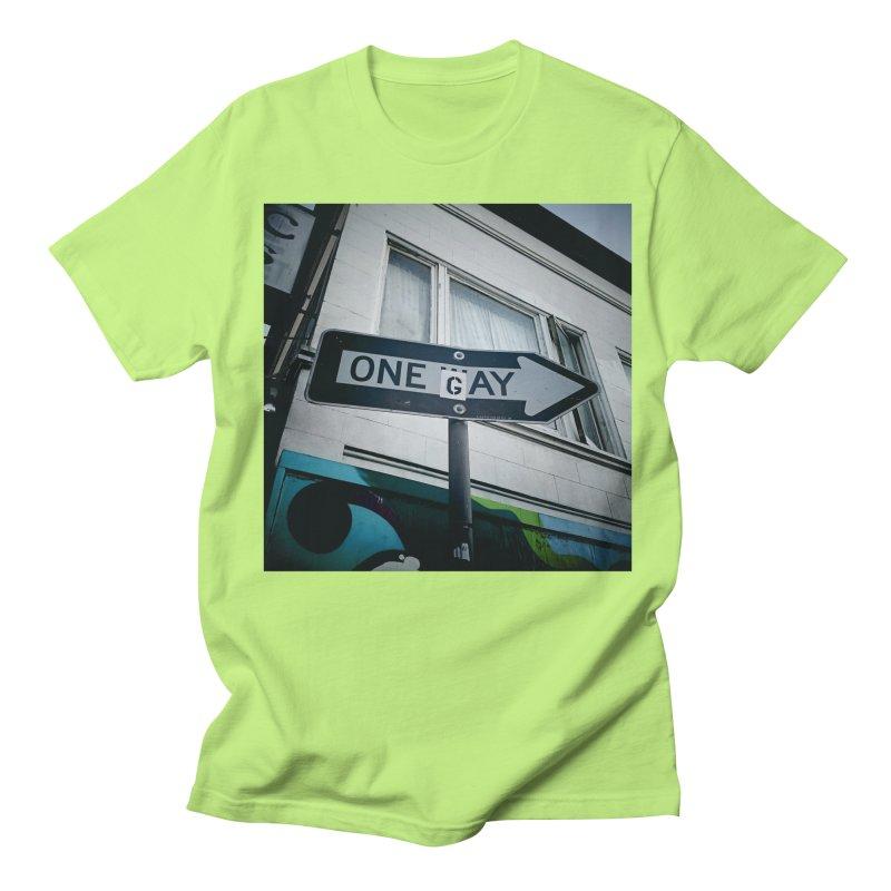 One Way Gay Women's Regular Unisex T-Shirt by Dogfish's Merch
