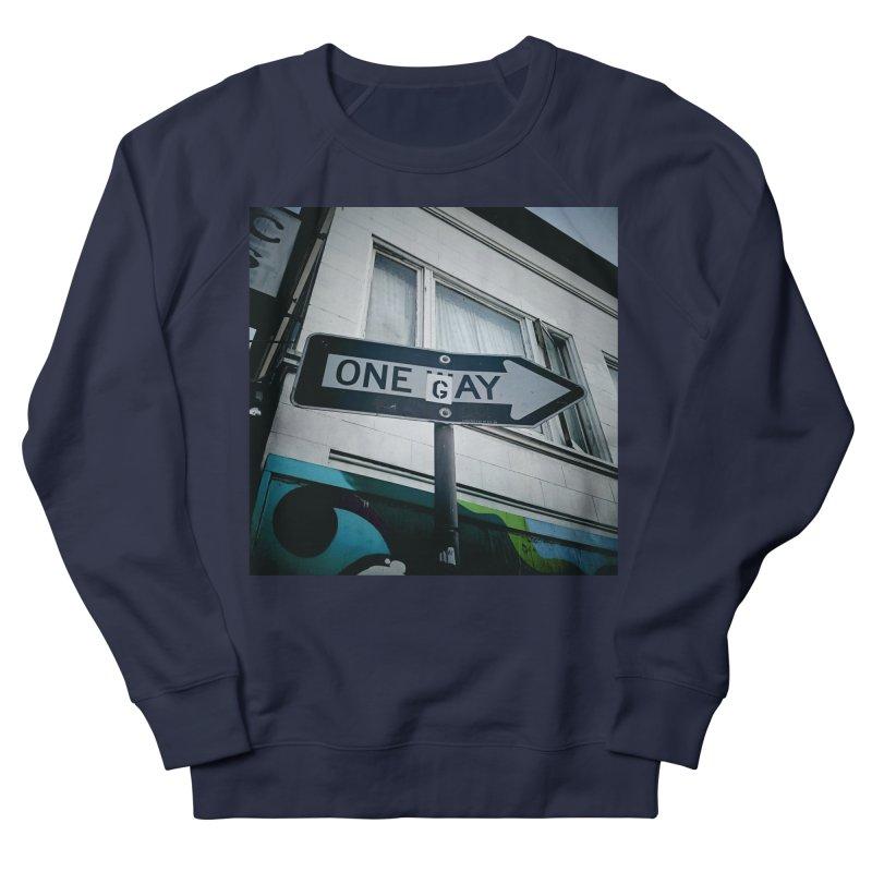 One Way Gay Men's Sweatshirt by Dogfish's Merch