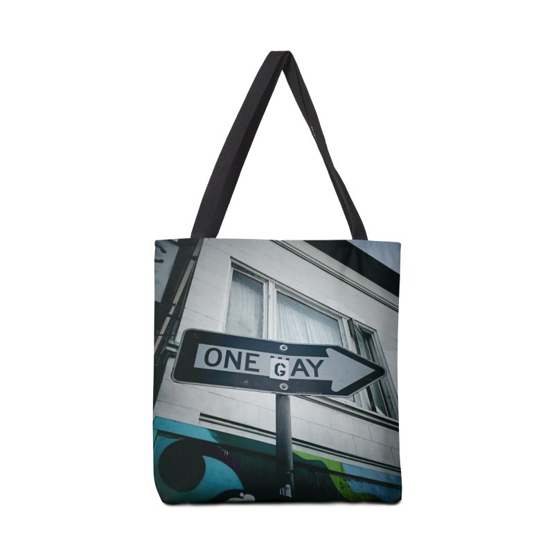 One Way Gay Accessories Tote Bag Bag by Dogfish's Merch