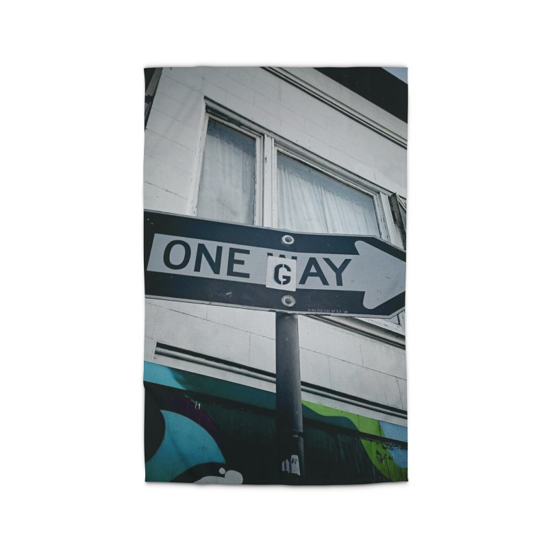One Way Gay Home Rug by Dogfish's Merch