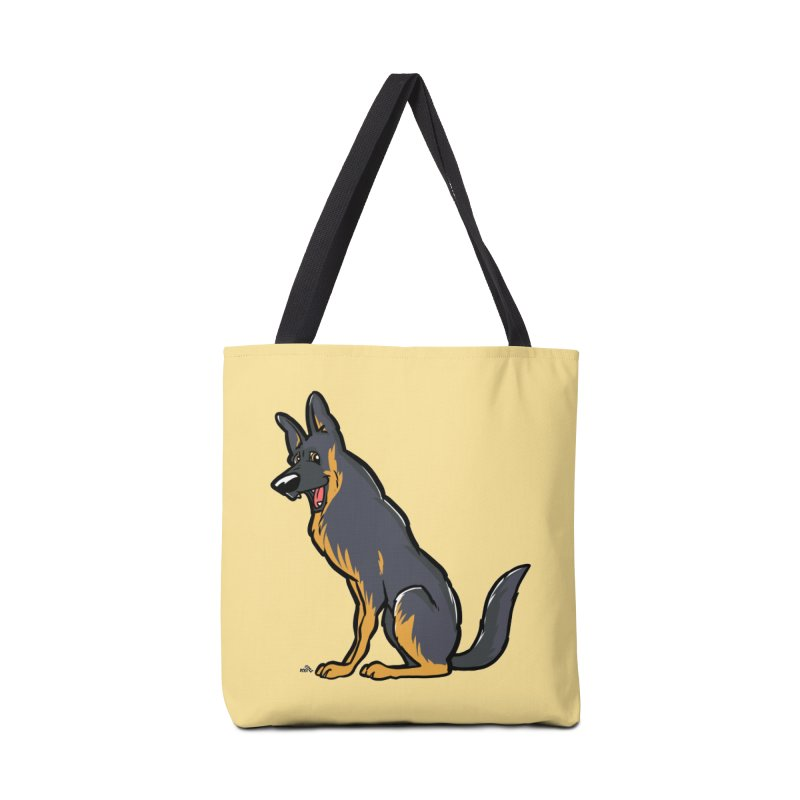 German Shepherd Black dog Accessories Bag by DogiStyle Dog Shirts