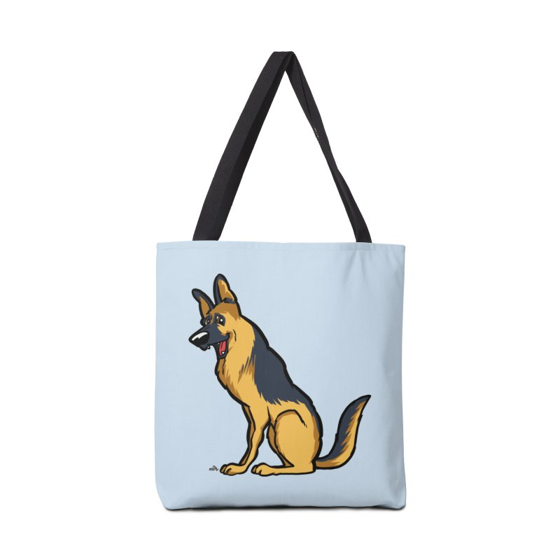 German Shepherd, brown Accessories Bag by DogiStyle Dog Shirts