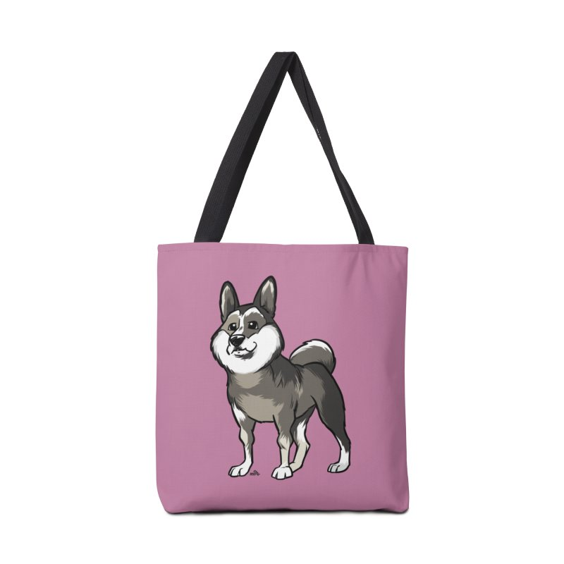 East Siberian Laika cartoon dog Accessories Bag by DogiStyle Dog Shirts