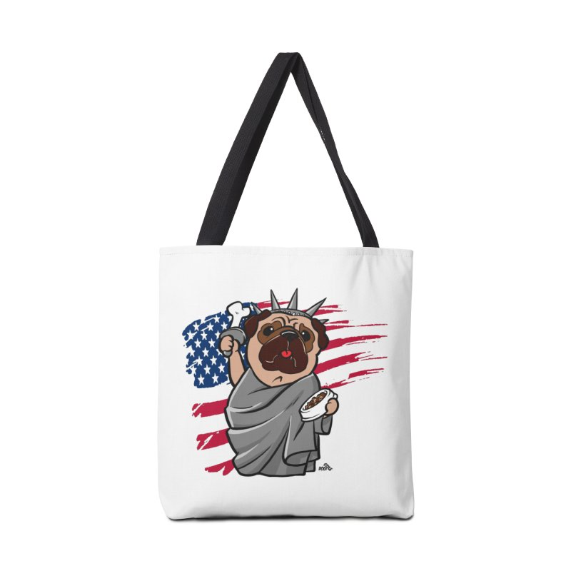 4th of july Independence day pug t-shirt Accessories Bag by DogiStyle Dog Shirts