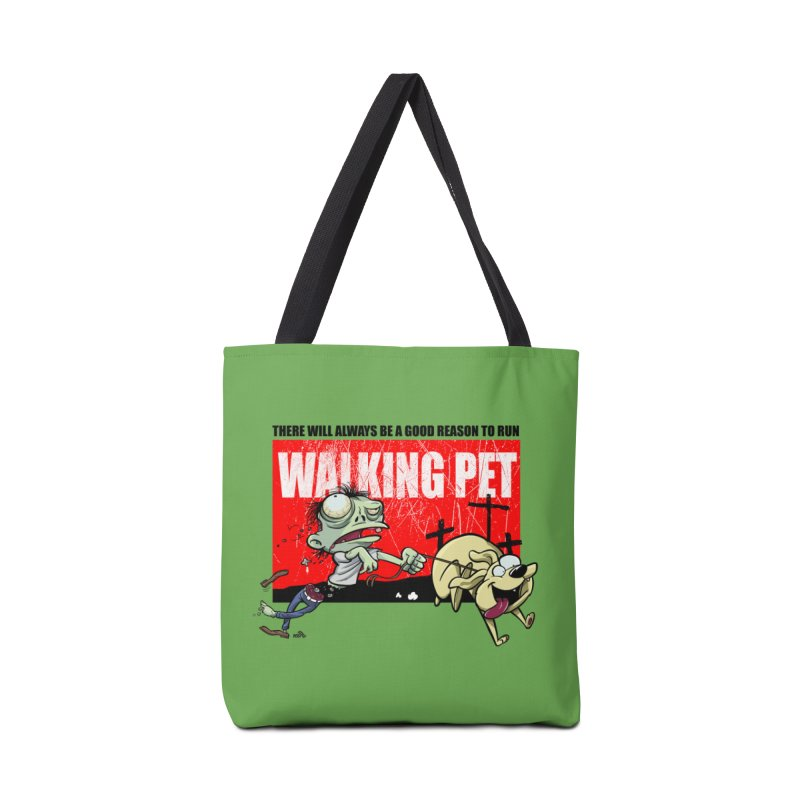 Walking Pet, zombies  Accessories Bag by DogiStyle Dog Shirts