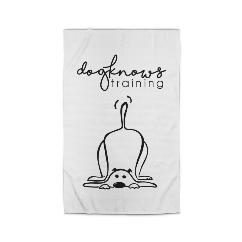 DogKnows Training Logo Home Rug by DogKnows Shop