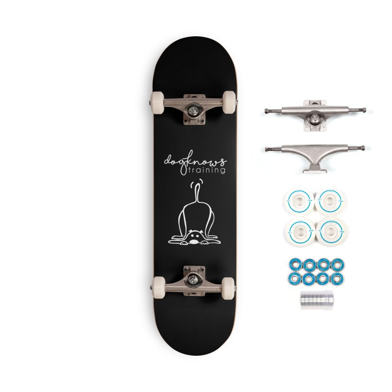DogKnows Training in White Accessories Complete - Basic Skateboard by DogKnows Shop