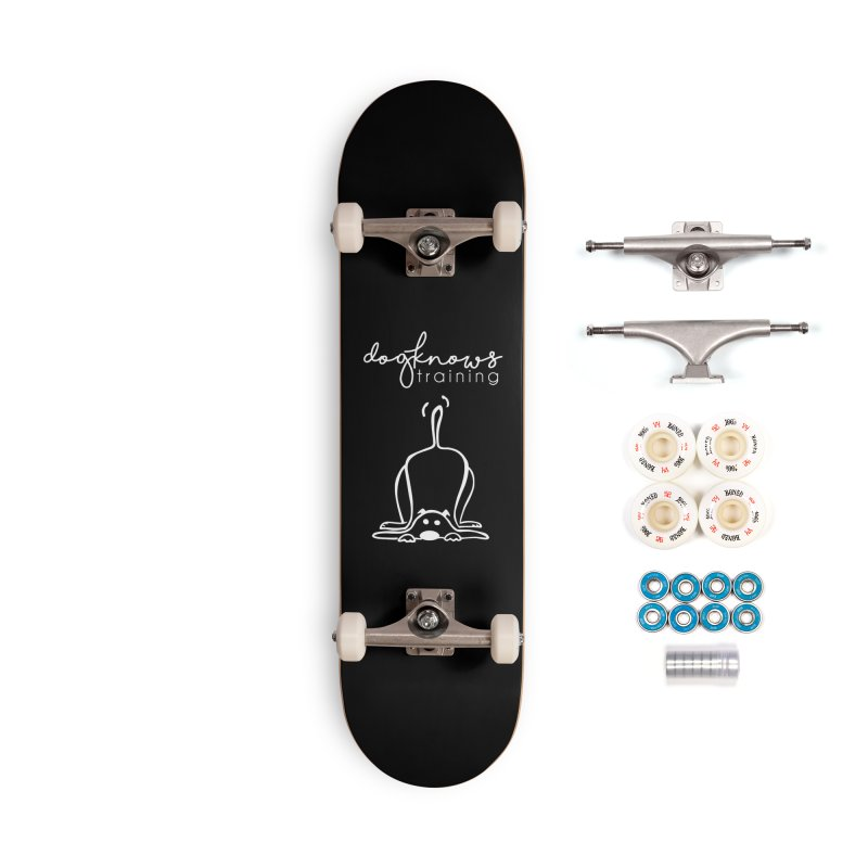 DogKnows Training in White Accessories Complete - Premium Skateboard by DogKnows Shop
