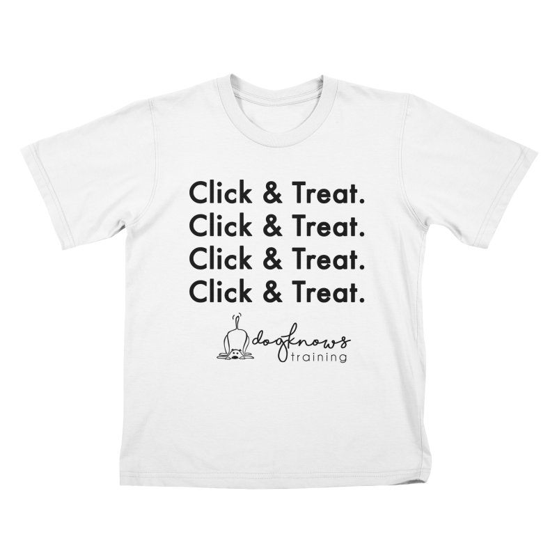 Click & Treat Kids T-Shirt by DogKnows Shop