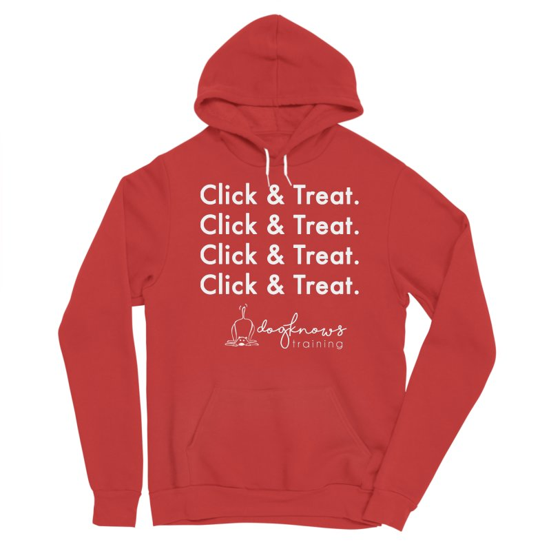 Click & Treat Lite Women's Pullover Hoody by DogKnows Shop