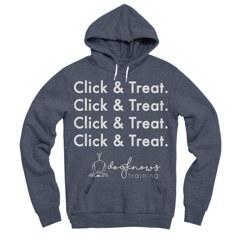 Click & Treat Lite Women's Sponge Fleece Pullover Hoody by DogKnows Shop