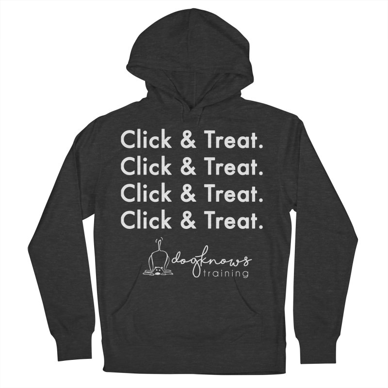 Click & Treat Lite Women's French Terry Pullover Hoody by DogKnows Shop