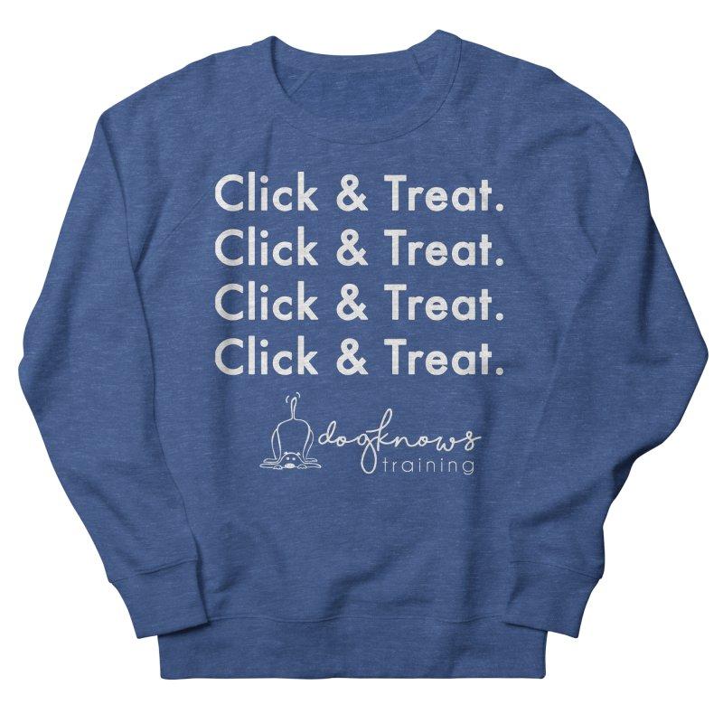Click & Treat Lite Men's Sweatshirt by DogKnows Shop