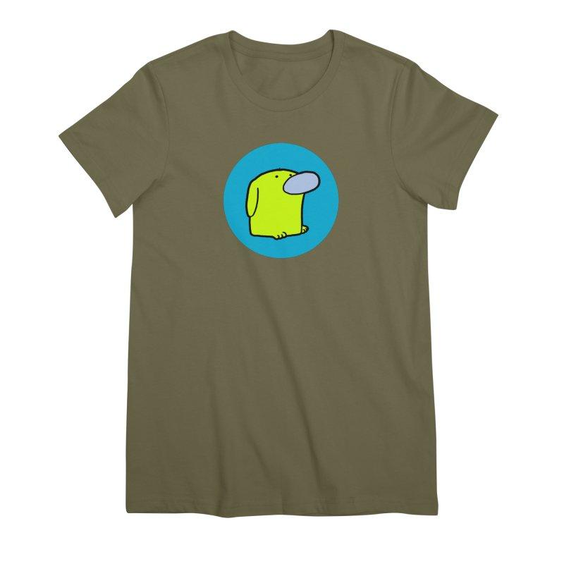 DOGMO DOG Women's Premium T-Shirt by Dogmo's Artist Shop