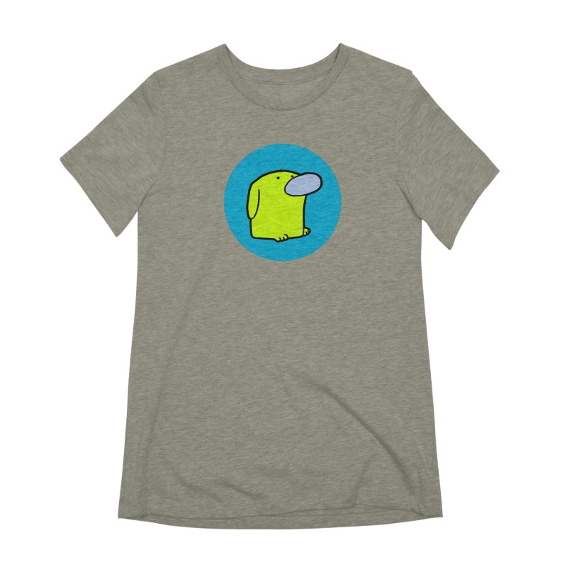 DOGMO DOG Women's Extra Soft T-Shirt by Dogmo's Artist Shop